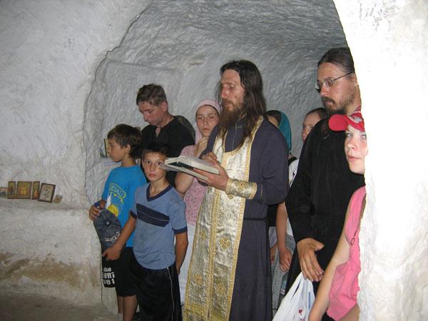 В пещерном храме святой Софии