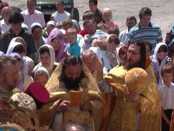 Молебен русским святым