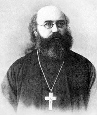 Автор поучения - сщмч. Иоанн Восторгов